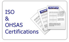 ISO and Osha certifications