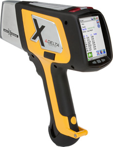 DELTA Handheld XRF Analyzer